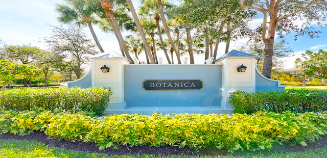 Botanica Homes For Sale in Jupiter, Florida 33458 community image