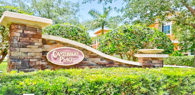 Canterbury Place Community Homes for Sale in Jupiter FL 33458 community image
