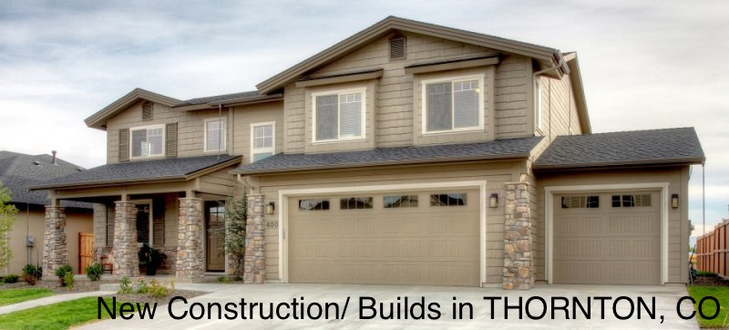New Construction/ Builds in THORNTON, CO