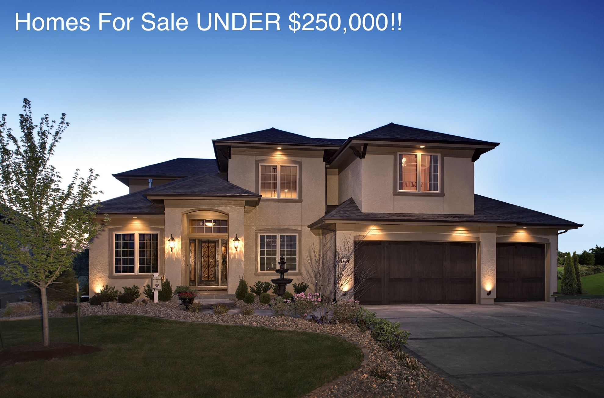 Homes For Sale UNDER $250,000!!!