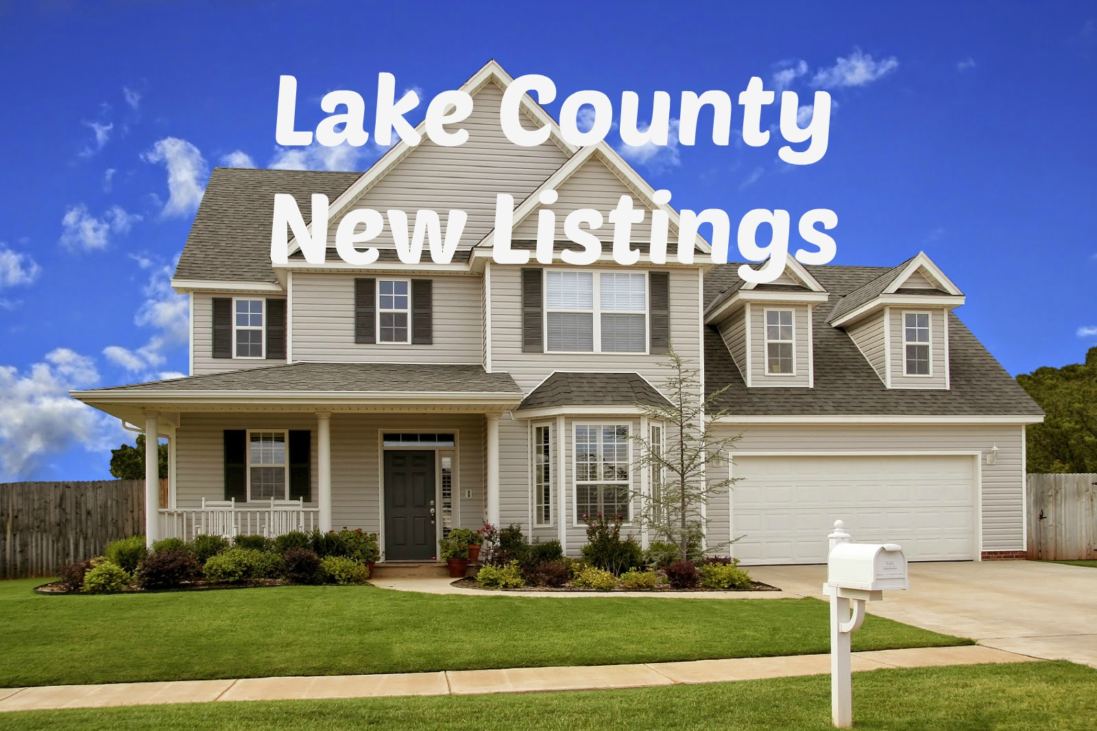 Lake County Homes - New Listing