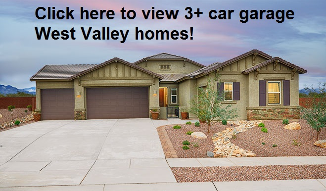 West Valley Homes with 3+ car garages