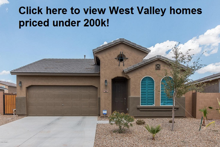 West Valley Homes less than 200k