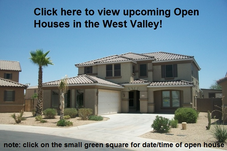West Valley homes with upcoming Open Houses