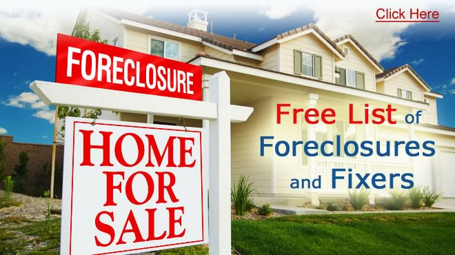Free List of Foreclosures and Distress Sales