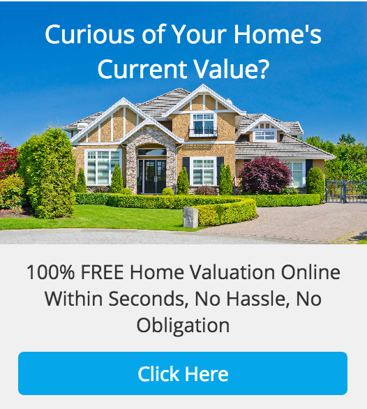 result advertisement for your home's current value
