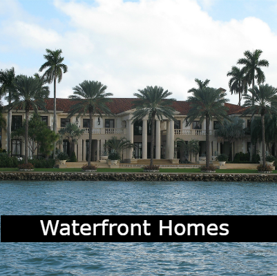 Water Front Homes