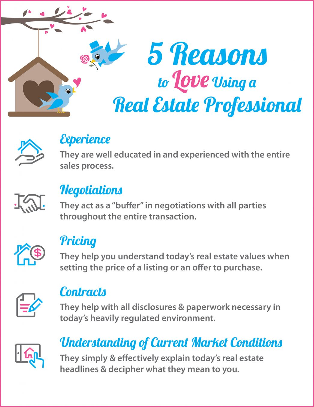5 Reasons to Love Hiring A Real Estate Pro [INFOGRAPHIC] | MyKCM