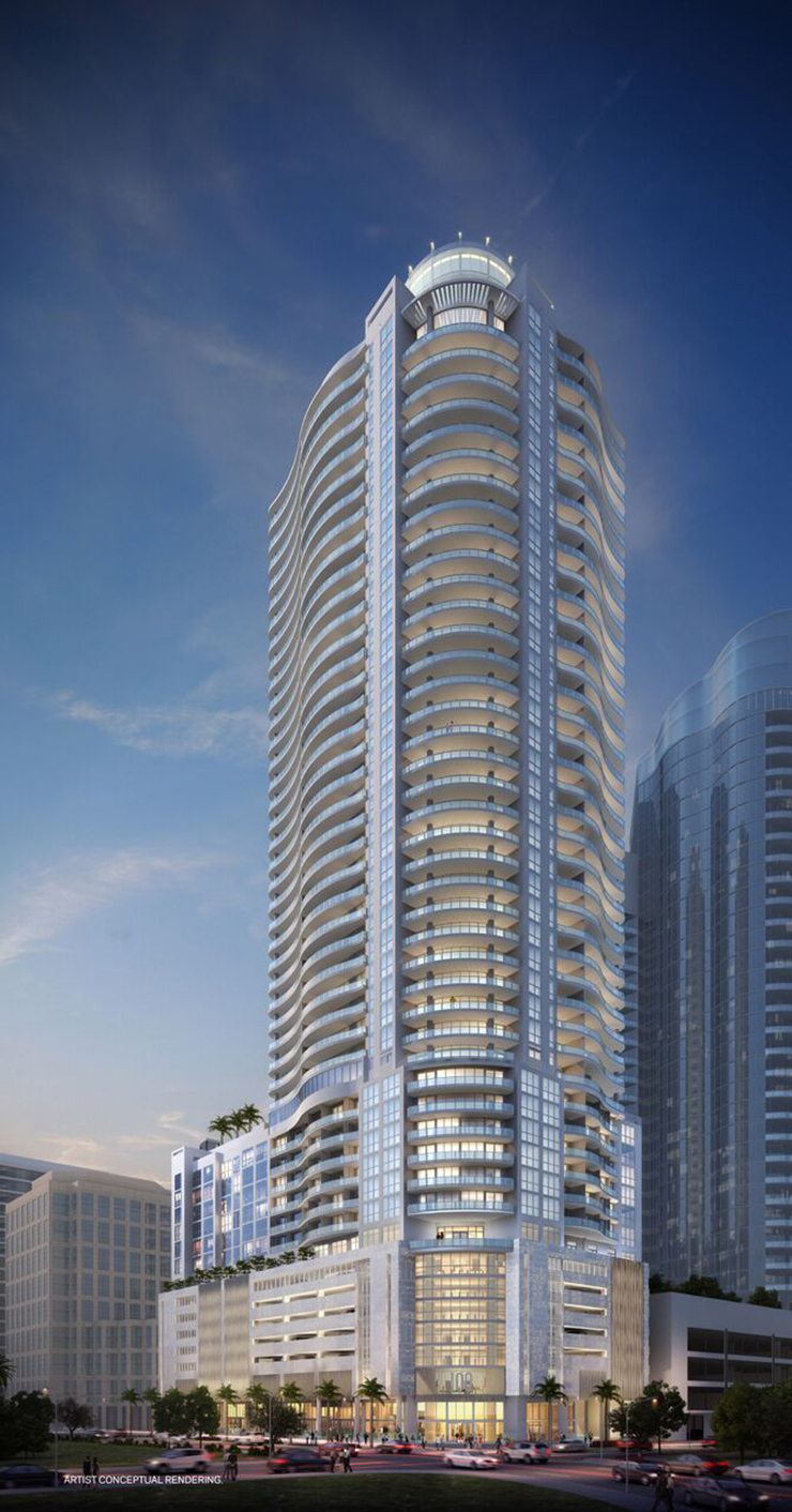 100 Las Olas Set To Be The Tallest Residential Tower In Fort Lauderdale
