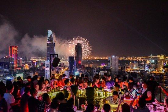 28. Chill Sky Bar, AB Tower || Ho Chi Minh City, Vietnam