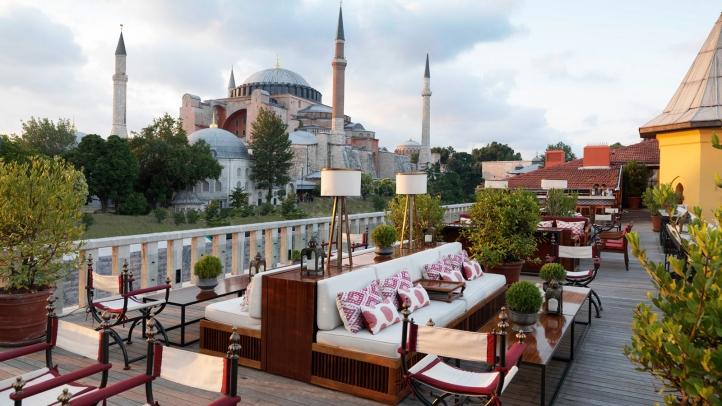 9. A'YA Rooftop Lounge, Four Seasons Hotel Istanbul || Sultanahmet, Turkey