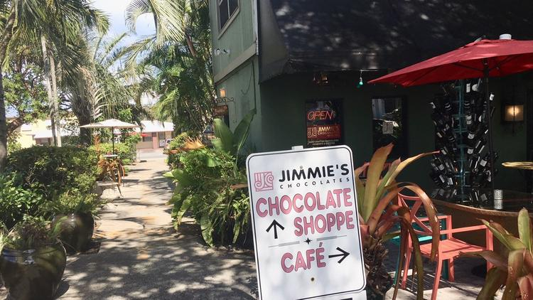 Jimmie's Chocolates and Cafe 47 has been in the business of hand-made chocolate treats since 1947. J