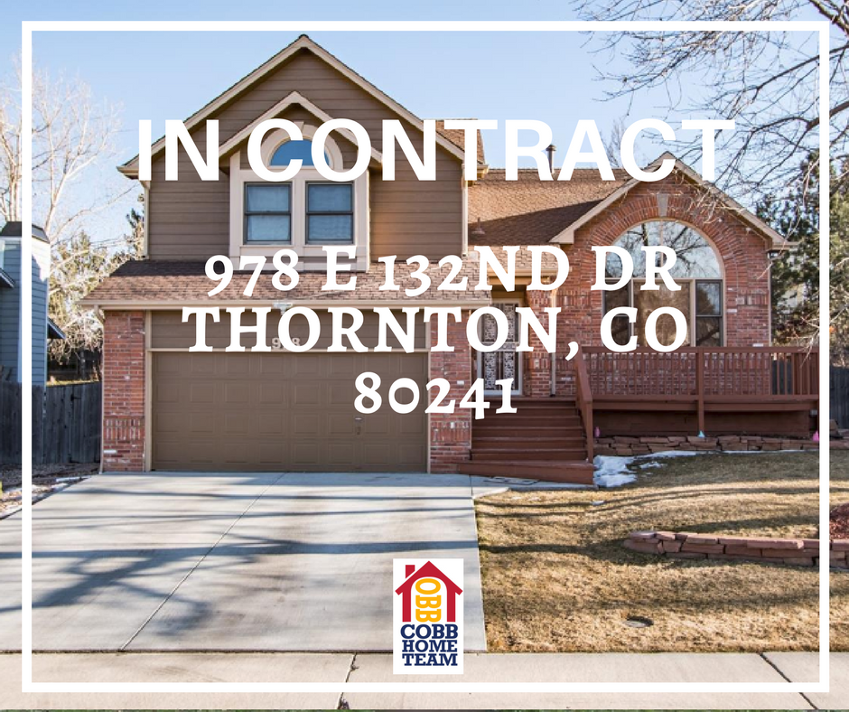 In Contract- 978 E 132nd Drive Thornton, CO 80241