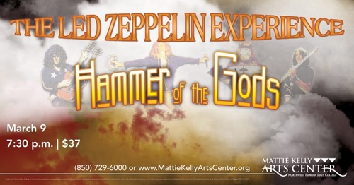 "alt=""Hammer of the Gods, The Led Zeppelin Experience"""