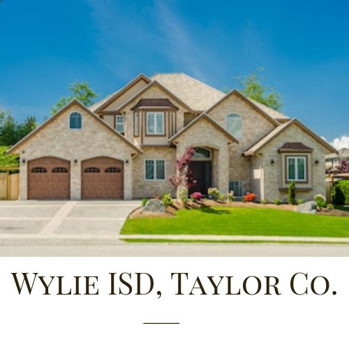 Homes in Wylie ISD