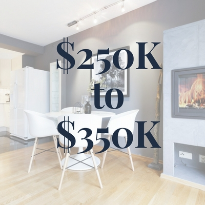 Homes $250K to $350K