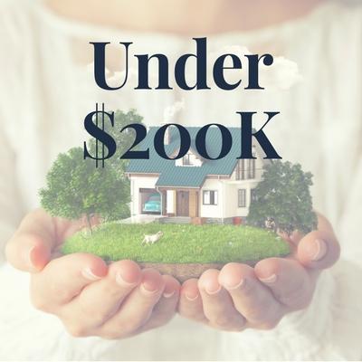 Homes under $200K