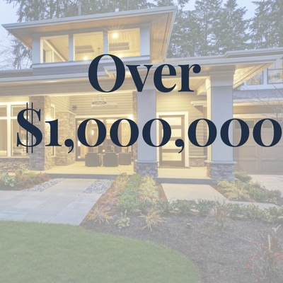 Homes $1,000,000 +