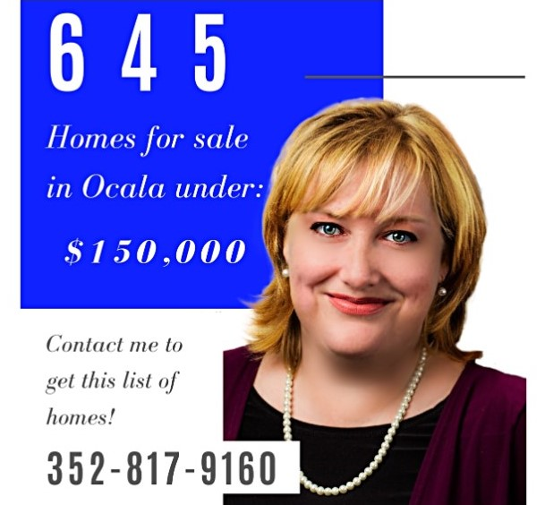 Search all Homes in Marion Co. Florida under $150,000