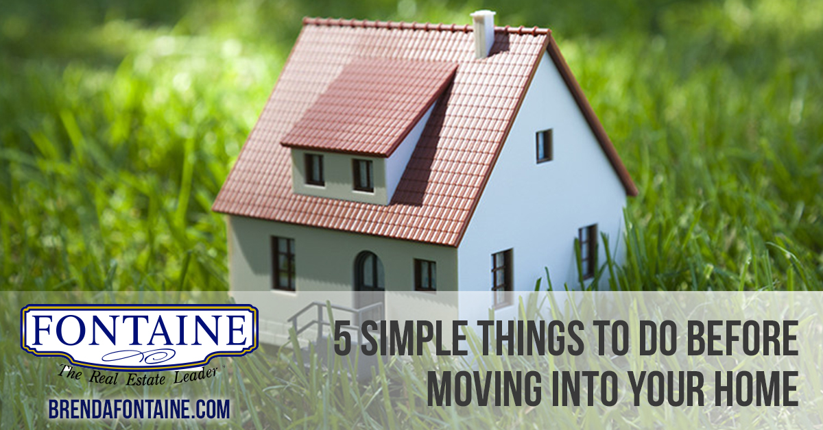 Do these 5 simple things before moving into your new home - Things to do when moving into a new house ...