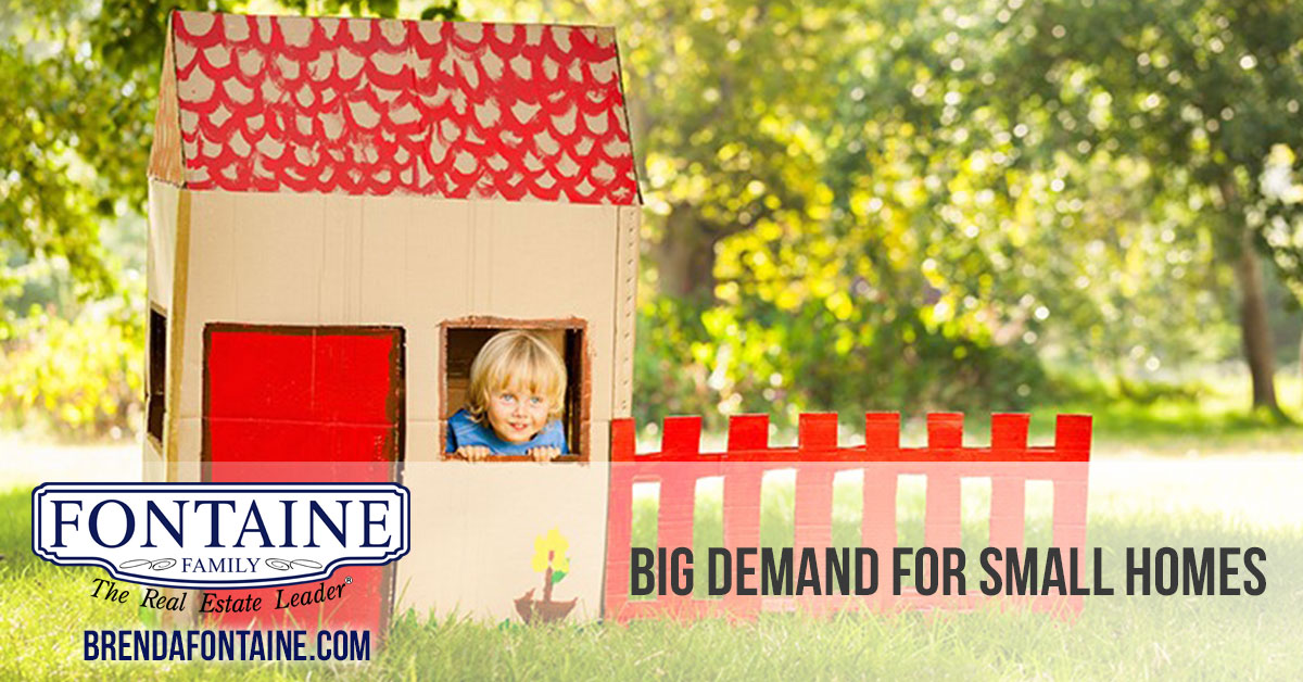 Big demand for small homes: Fontaine Family - The Real Estate Leader