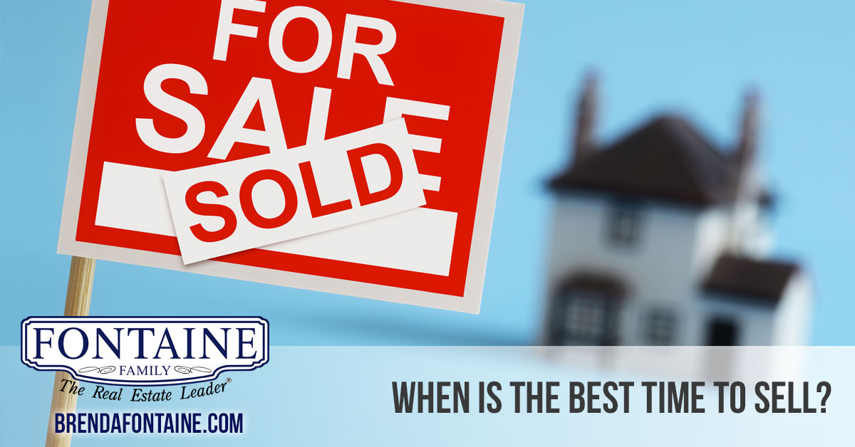 When is the best time to sell my home in Maine?