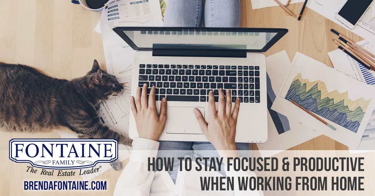 How to Stay Focused & Productive When Working From Home