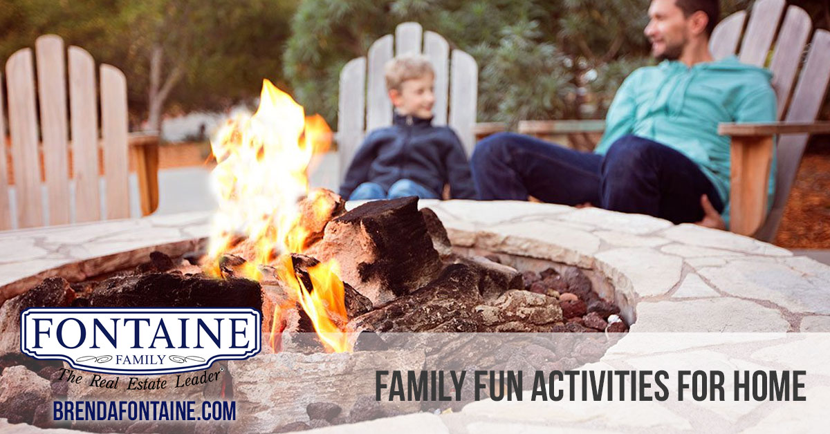 Family Fun Activities For Home
