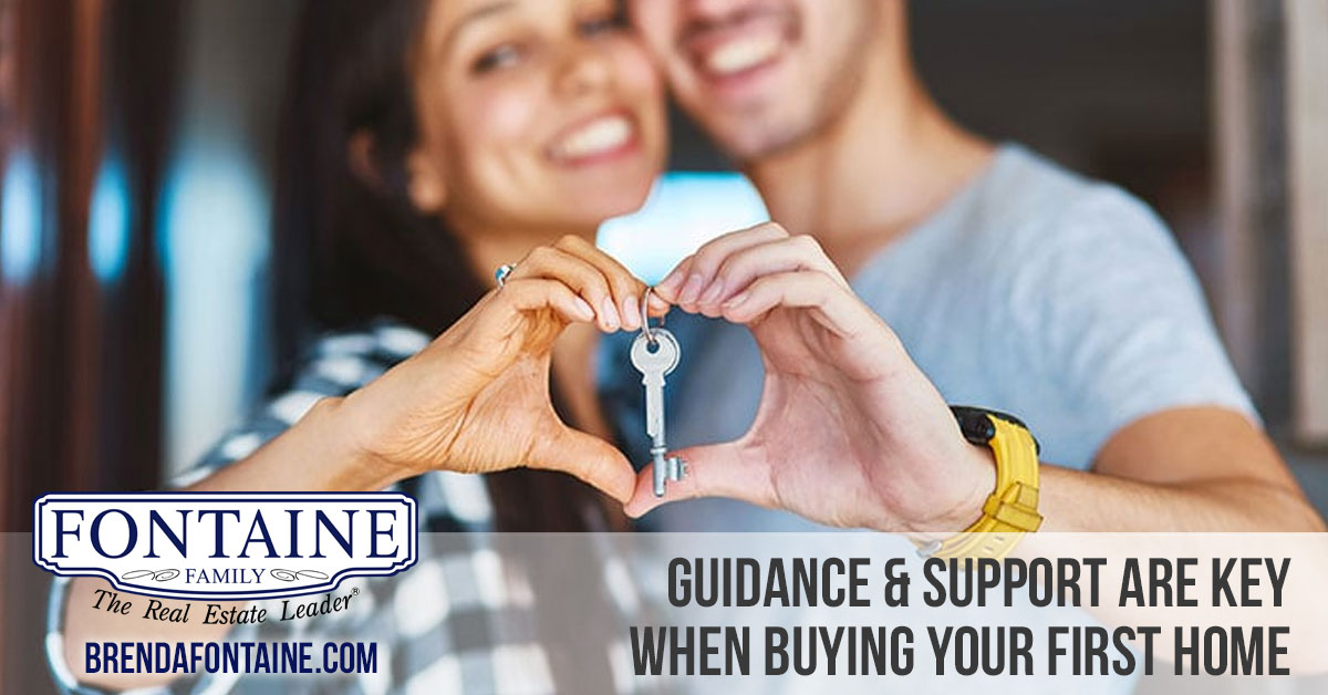 Guidance & Support Are Key When Buying Your First Home