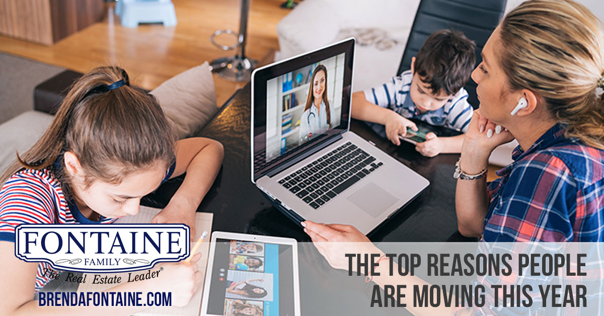 The Top Reasons People Are Moving This Year | Maine Real Estate Blog | Fontaine Family - The Real Estate Leader