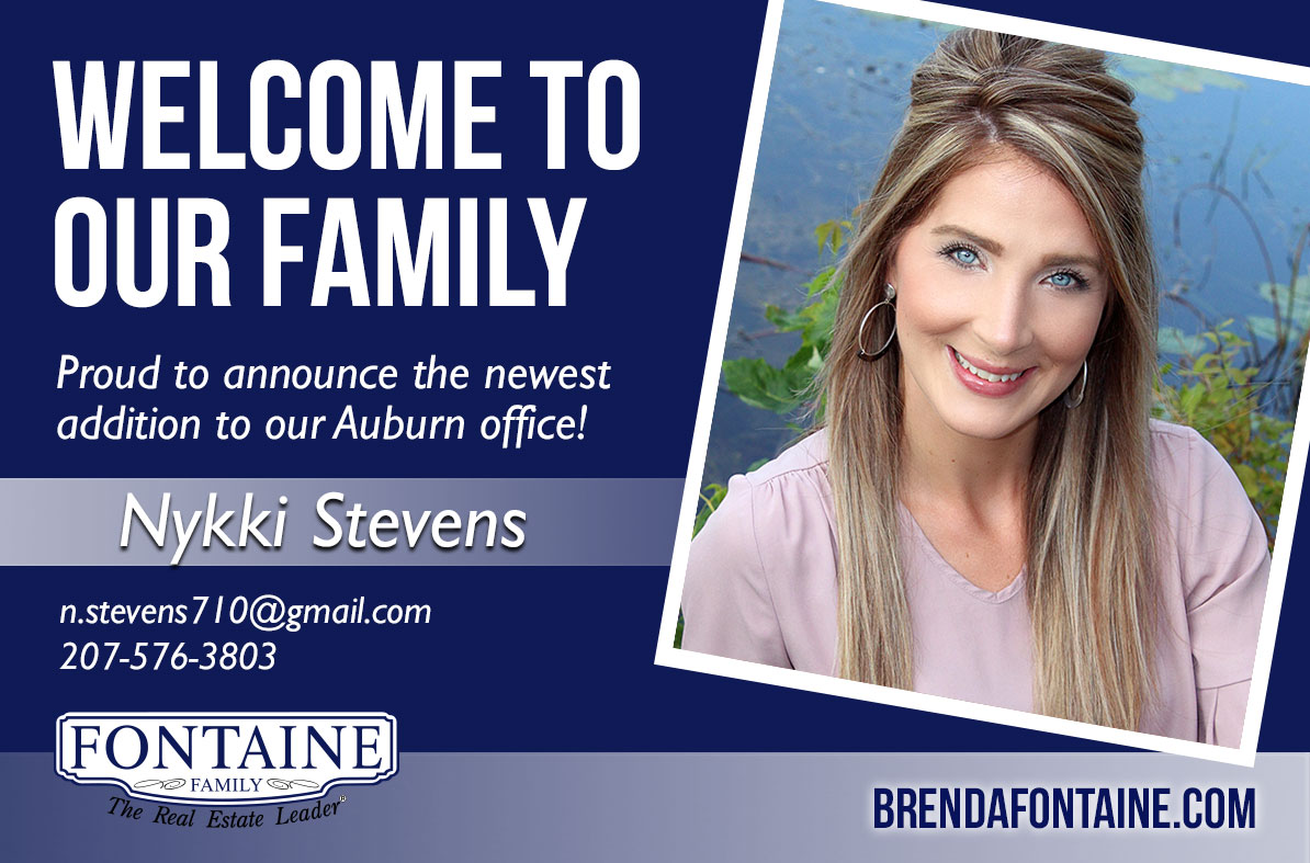 We're pleased to announce the addition of Nykki Stevens to the team at our Auburn location! team at our Scarborough location!