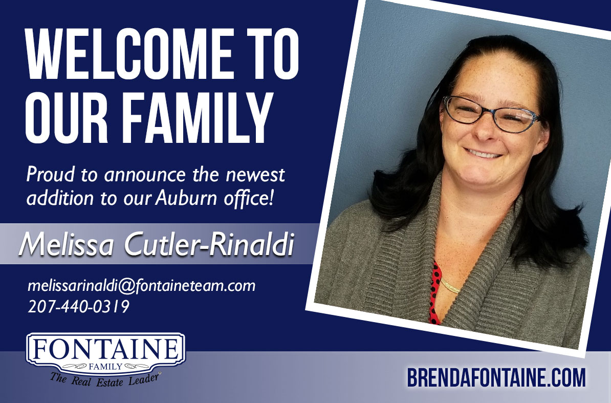 We're pleased to announce the addition of Melissa Cutler-Rinaldi to the team at our Auburn location!
