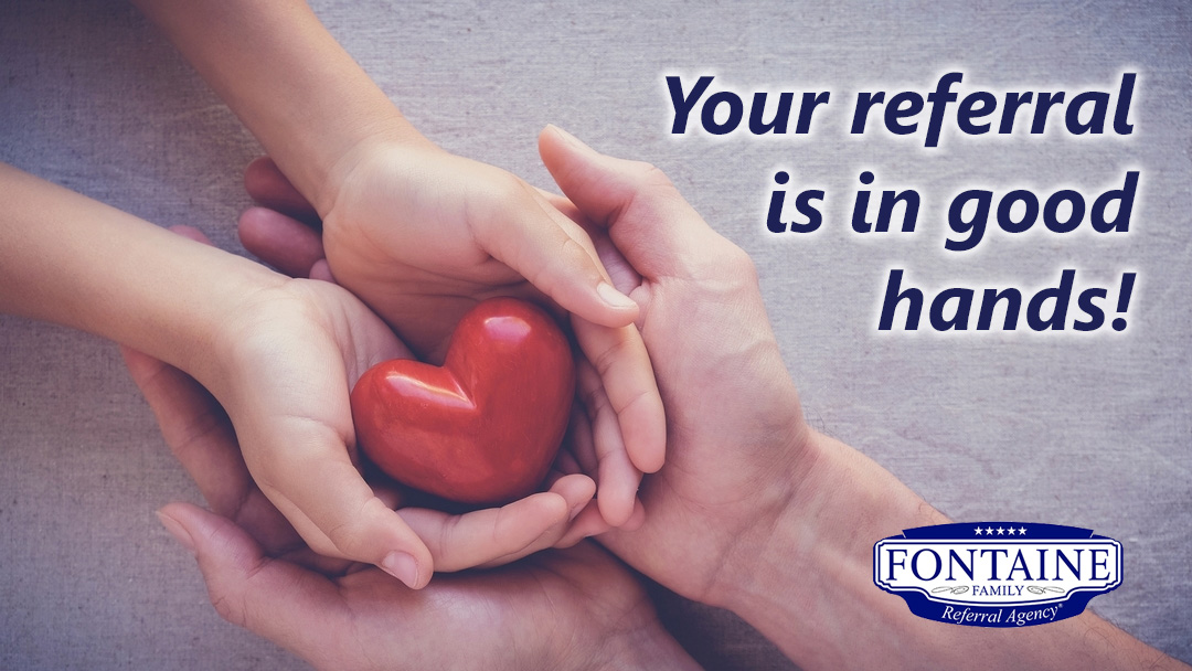 Your referral is in good hands | Fontaine Referral Agency | Maine's Referral Network for Retired Realtors