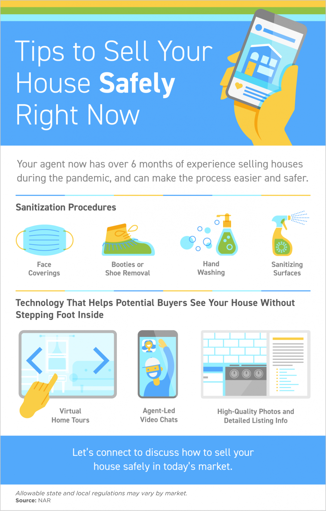 Tips to Sell Your House Safely Right Now [INFOGRAPHIC] | Maine Real Estate Blog | Faontaine Famly - The Real Estate Leader | Auburn, Scarborough, Maine