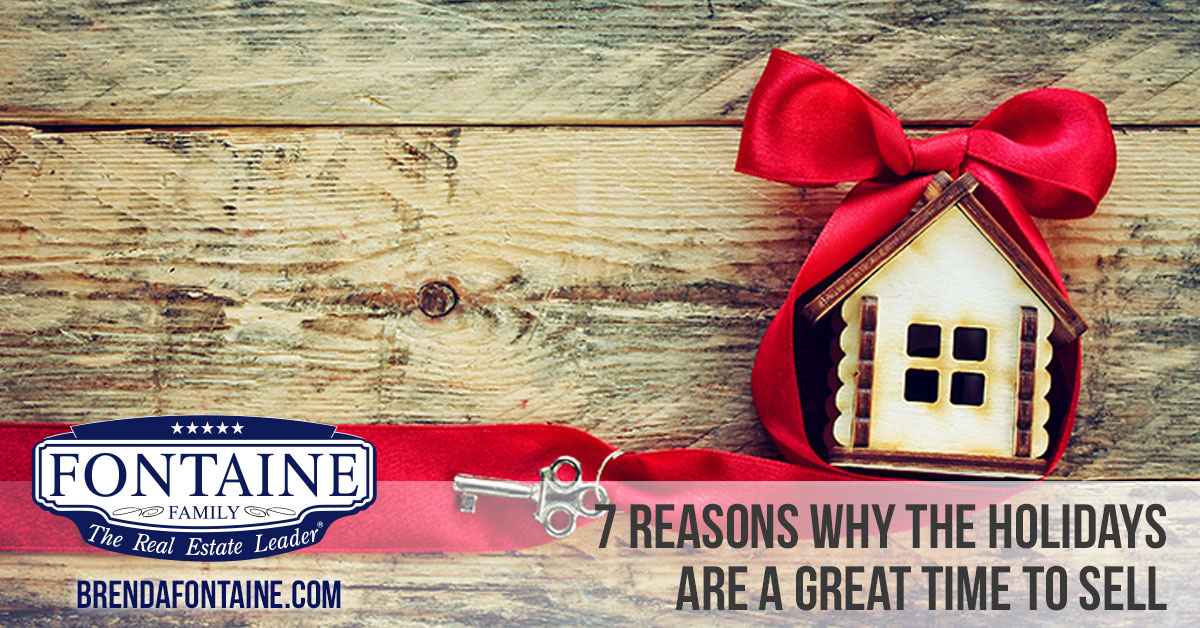 7 Reasons Why The Holidays Are A Great Time To Sell | Maine Real Estate Blog | Fontaine Family - The Real Estate Leader | Auburn, Scarborough, Maine