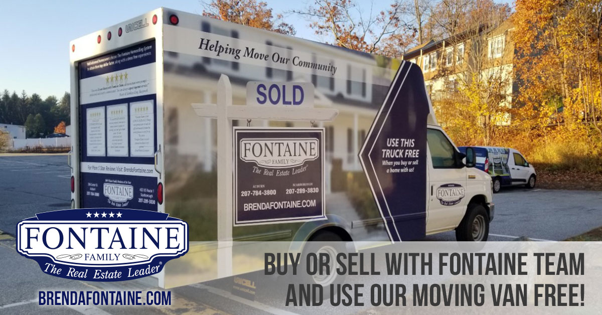 Buy or sell with Fontaine Family Team and use our moving truck FREE!