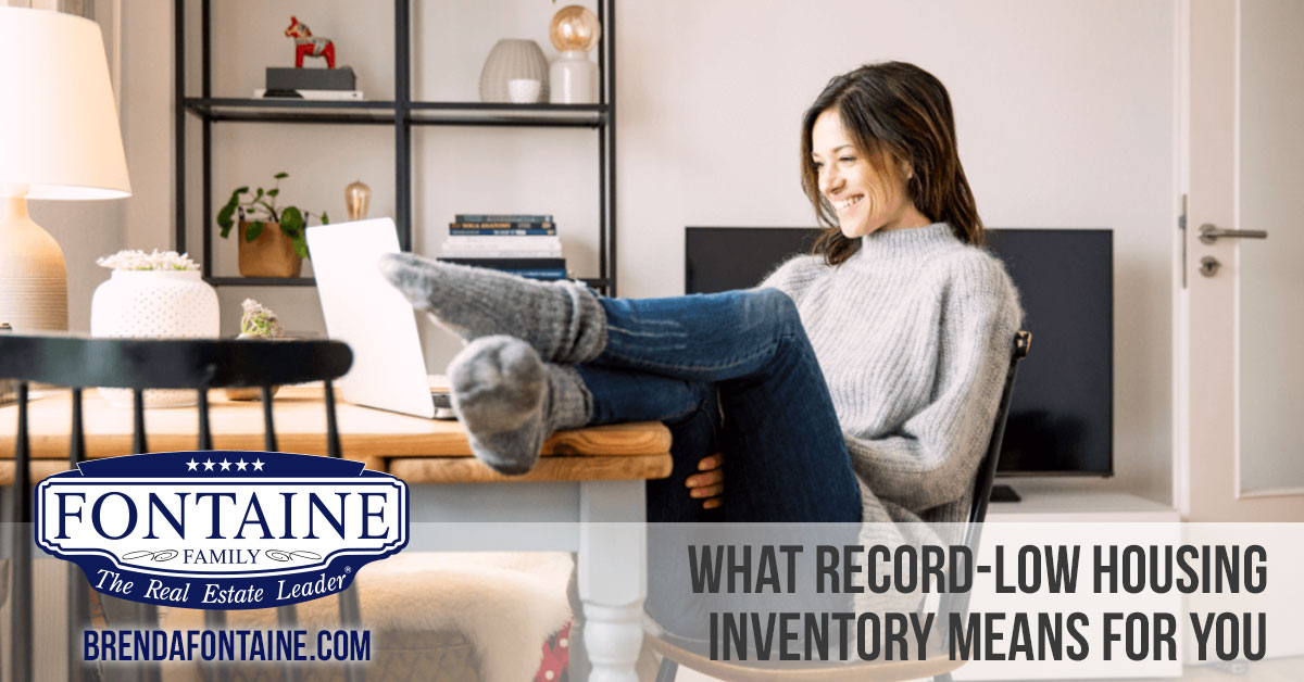 What Record-Low Housing Inventory Means for You | Maine Real Estate Blog | Fontaine Family - The Real Estate Leader | Auburn, Scarborough, Maine