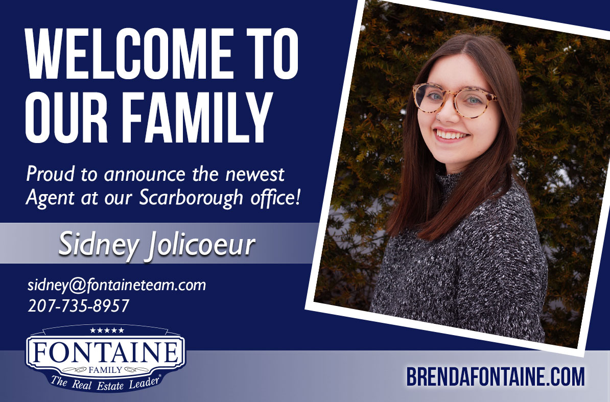 Sidney Jolicoeur - Realtor at Fontaine Family - The Real Estate Leader | Auburn, Scarborough, Maine