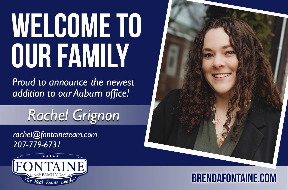 Rachel Grignon - Realtor at Fontaine Family - The Real Estate Leader | Auburn, Scarborough, Maine
