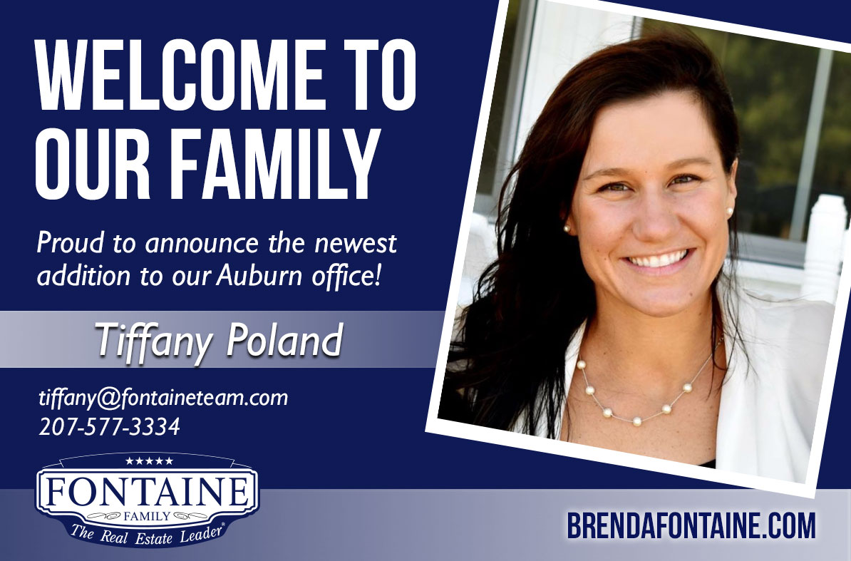 Tiffany Poland - Realtor at Fontaine Family - The Real Estate Leader | Auburn, Scarborough, Maine