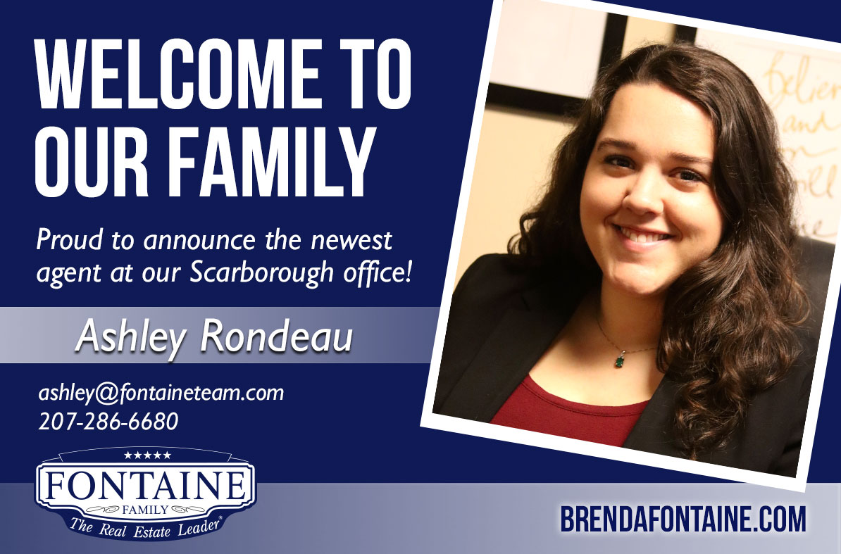 Ashley Rondeau - Realtor at Fontaine Family - The Real Estate Leader | Auburn, Scarborough, Maine