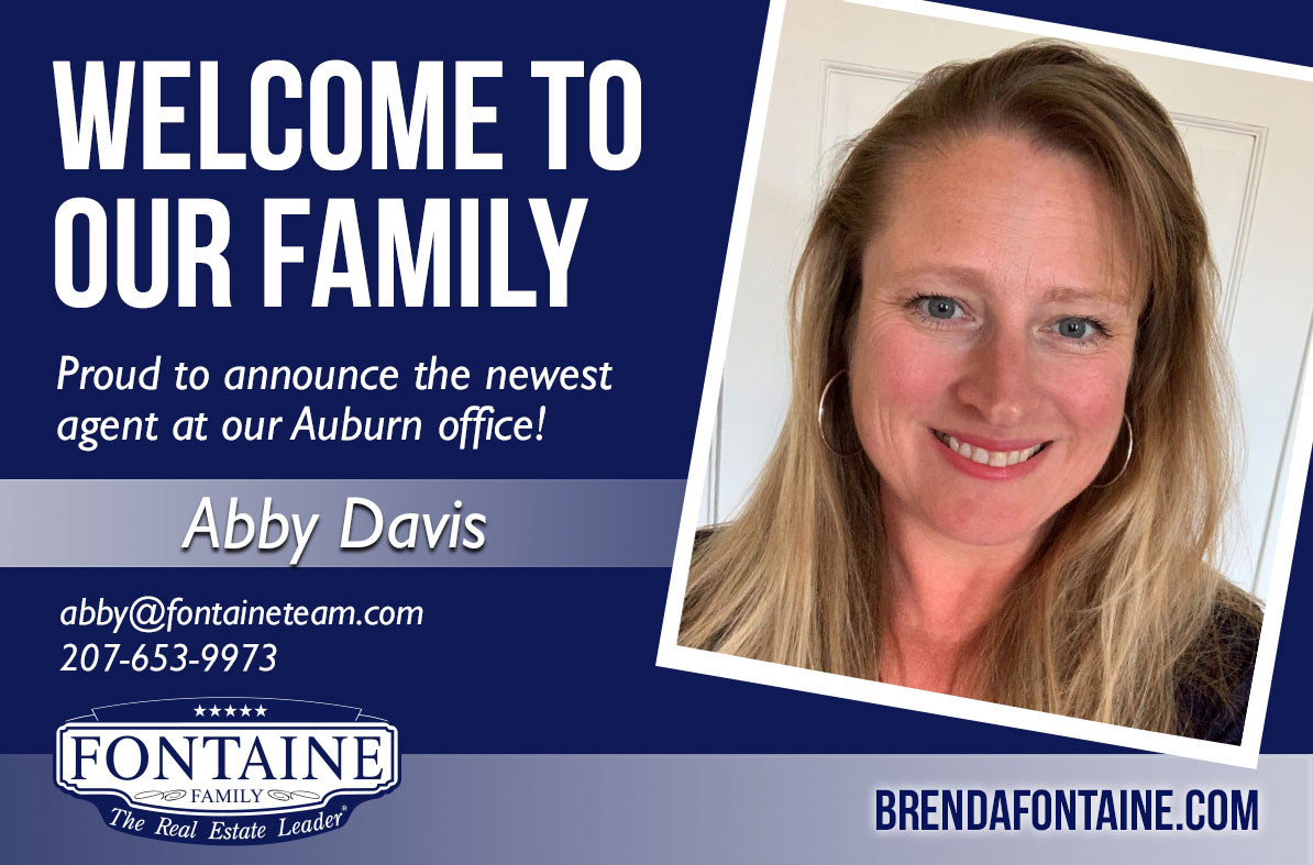 Abby Davis - Realtor at Fontaine Family - The Real Estate Leader | Auburn, Scarborough, Maine