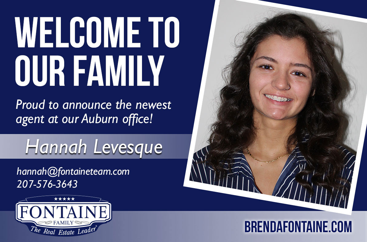 Hannah Levesque - Realtor at Fontaine Family - The Real Estate Leader | Auburn, Scarborough, Maine