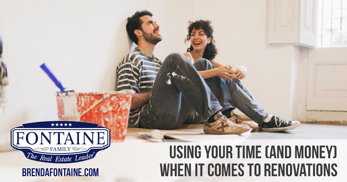 Best Way To Use Your Time (and Money) When It Comes to Renovations | Maine Real Estate Blog | Fontaine Family Team | Auburn, Scarborough, Maine