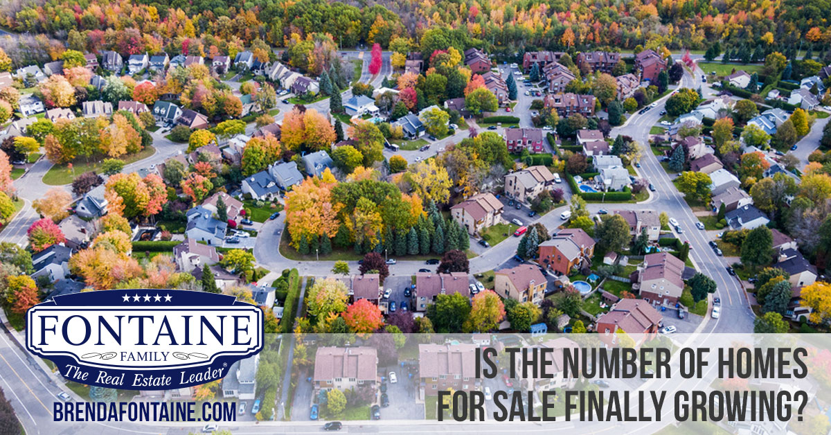 Is the Number of Homes for Sale Finally Growing? | Maine Real Estate Blog | Fontaine Family- The Real Estate Leader
