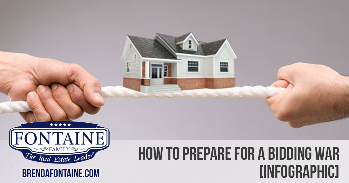 How to Prepare for a Bidding War [INFOGRAPHIC] | Maine Real Estate Blog | Fontaine Family - The Real Estate Leader