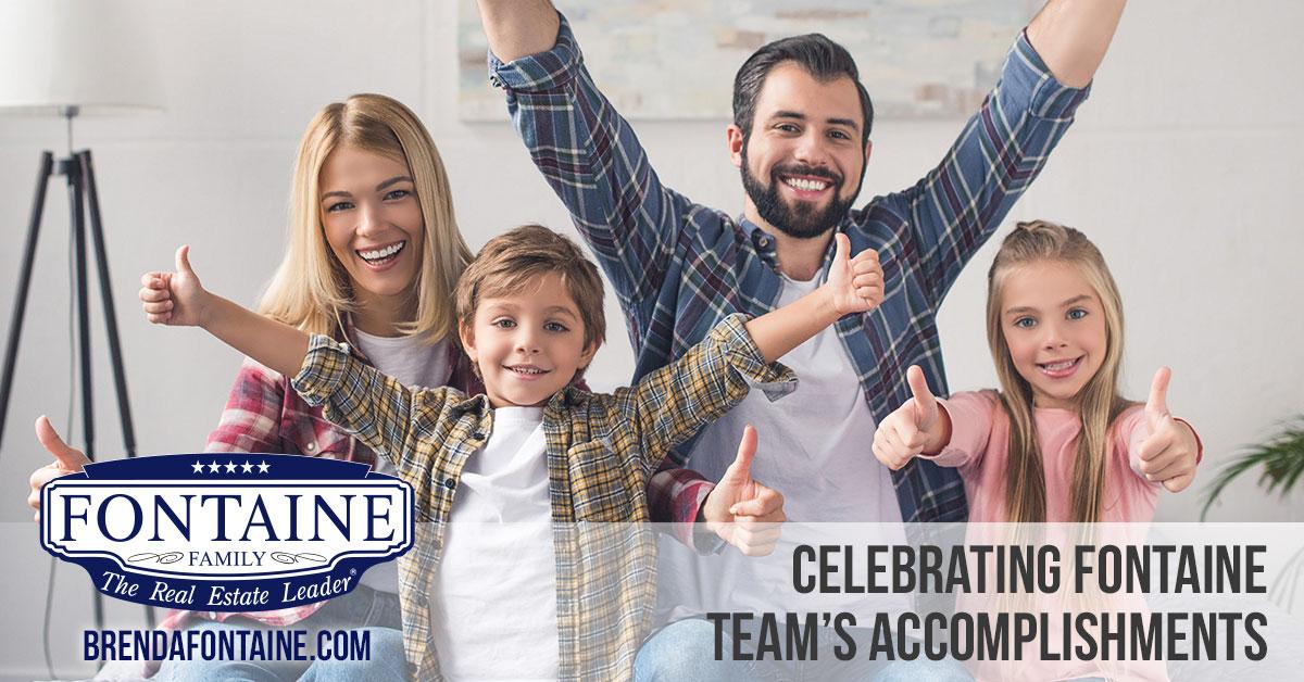 Celebrating Fontaine Team's Accomplishments