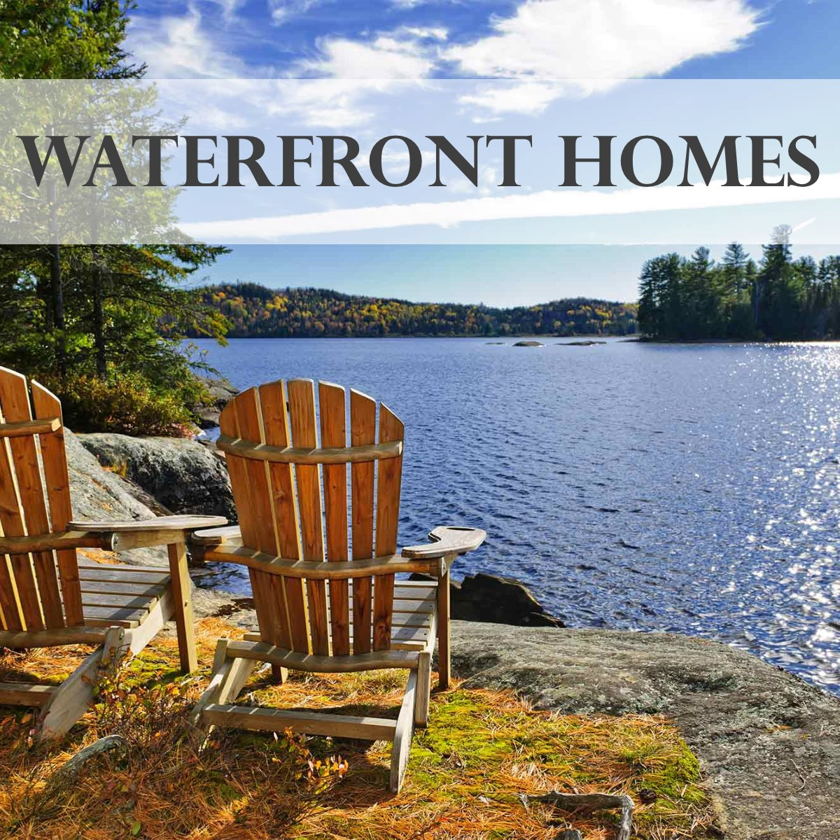 Maine Water front Homes and Camps - real estate leader, maine homes for sale, maine real estate, maine realtors, fontaine family