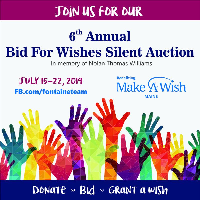 Make-A-Wish Maine - Bid For Wishes 2019