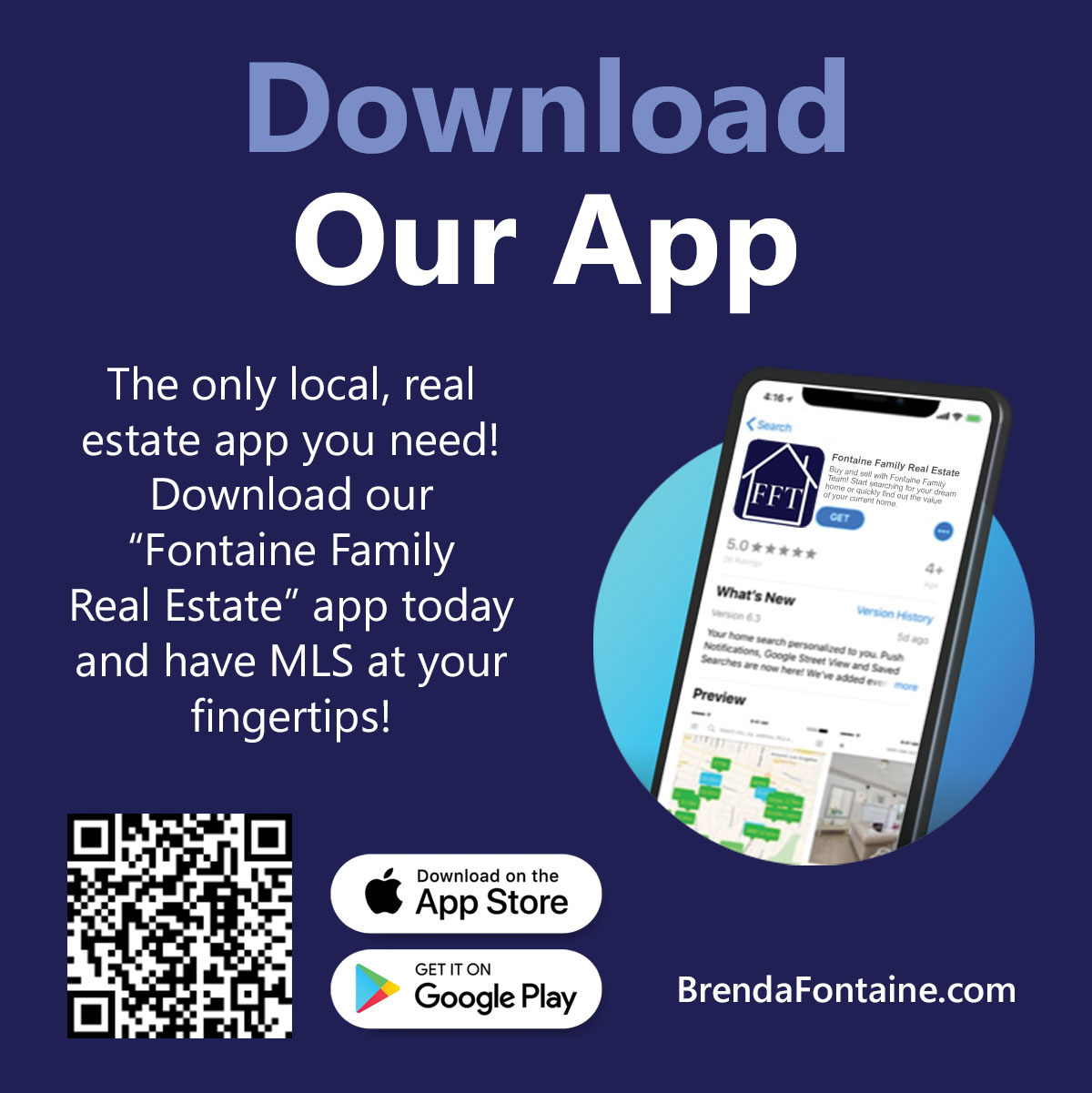Download Fontaine Family Real Estate app on App Store or Google Play
